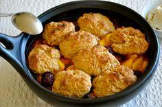 How Safe Is Your Cookware? & Blackberry and Peach Dumplings In a Clay Pot http://www.ordinaryvegan.net/almonddumplings/
