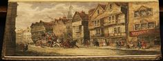 The Rambler (vol. 1) by Samuel Johnson, printed in 1825 with a stagecoach scene of Wych Street, London