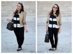 Non solo righe! #outfit #fashionblogger #curvy