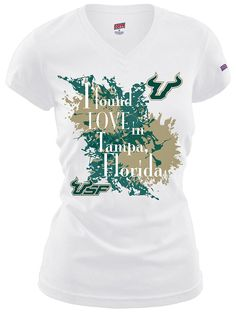 I found love in Tampa Florida. University of South Florida tee #USF #GoBulls
