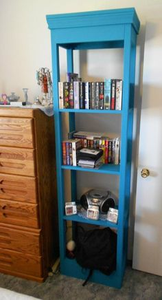 Free DIY Furniture Plans from the Design Confidential: X Tower