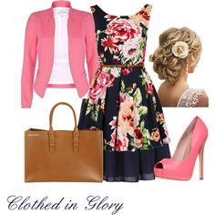 """Florally Modest"" by clothed-in-glory on Polyvore"