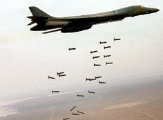 B-52 Dropping Bombs | USAF B-1B Strategic Bomber Jet Aircraft History Pictures and Facts