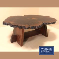 This is a live edge custom walnut table built in our shop. Epoxy was used to fill in any natural small cracks and voids. Scroll through our feed to see this in various stages of being built.  @westsystemepoxy #epoxy #beforeandafter #thenandnow #naturalwoodgrain #liveedge #pdxfurniture #walnut #walnuttable #walnutwood #woodcraft #wooddesign #woodfurniture #woodgrain #woodshop #woodworking #table #custom #furniture Walnut Table, Walnut Wood, Construction Services, New Construction, Custom Furniture, Wood Furniture, Wood Design, Wood Grain, Building Design