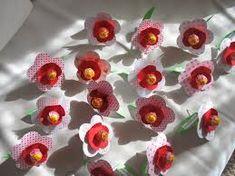 """Képtalálat a következőre: """"papír virágok készítése nyalókával"""""""