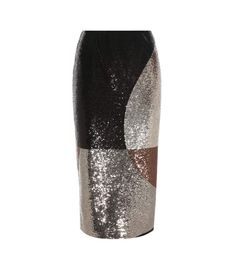TOM FORD Sequinned pencil skirt. #tomford #cloth #半身裙