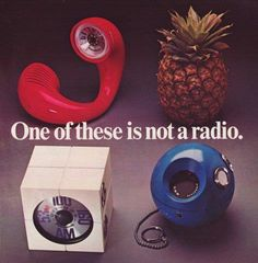 one of these is not a radio