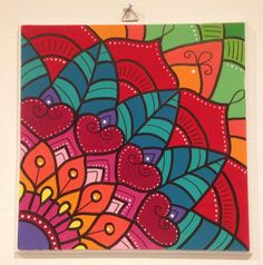 Mandala canvas by keepaustindreaming on etsy keep austin dre Mandala, Mural Art, Mandala Art Lesson, Painting, Doodle Art Drawing, Wall Painting, Painting Projects, Canvas Art Painting, Diy Canvas Art
