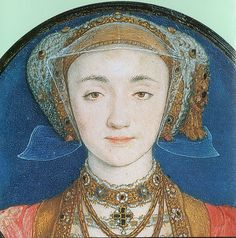 portrait of Anne of Cleves by Hans Holbein the Younger