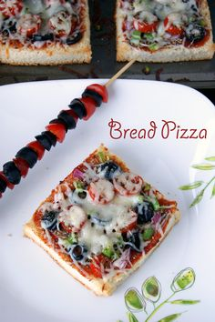 This quick and simple Vegetarian Bread Pizza is the easiest way to enjoy a wonderful homemade pizza at home without the real fuss of making your own pizza dough. Learn how to assemble and bake one in just 20 minutes!