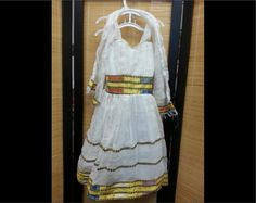 Ethiopian Dress: Young Girl's 10 by CCIWorld on Etsy