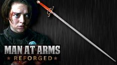 Arya's Needle (Game of Thrones) Forged in Real Life [Man At Arms Reforged] #gameofthrones #got #weapons #manatarms #design #aryastark