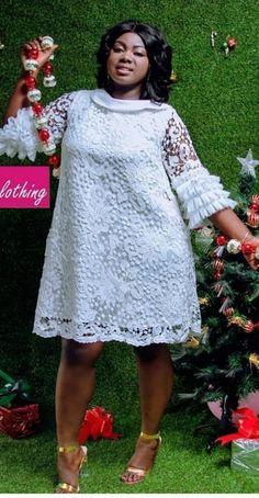 Ankara Long Gown Styles, Short African Dresses, African Blouses, Lace Dress Styles, Latest African Fashion Dresses, African Lace, Lace Dresses, New Dress For Girl, Ladies Design
