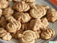 Maple Cinnamon Sugar Spritz Cookies Recipe OXO Cookies for Kids' Cancer Spritz Cookie Recipe, Spritz Cookies, Cookie Flavors, Fall Cookie Recipes, Roll Cookies, Yummy Cookies, Brownie Recipes, Maple Cookies, Double Chocolate Chip Cookies