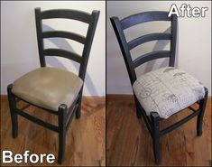How To Reupholster A Chair  Easy DIY Tutorial | Penniless Parenting | Home  Improvements | Pinterest | DIY Tutorial, Tutorials And Craft