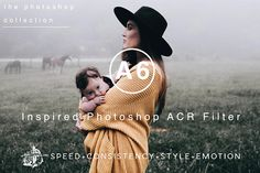 Modern Photoshop Filter A6 VSCOcam Inspired Inspired Film Photoshop Filter Professional Film Filters