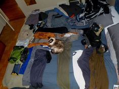 Men's Packing List for Carry On Only Travel.  Chuck needs this, he is a ridiculous over-packer.