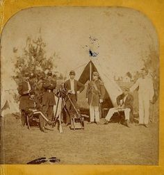 General shermans march to the sea google search charlie orr civil war union soldiers in camp by d barnum 1860s stereoview fandeluxe Gallery