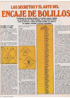 Aprender Encaje de Bolillos para principiantes - Virginia Ahumada - Álbumes web de Picasa