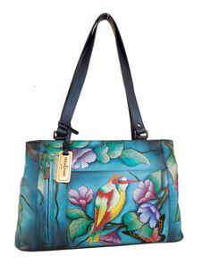 c0c8a8e373d4 Anuschka Purse - handmade and hand painted. www.laurasgifts.net Types Of  Handbags
