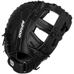 Wilson A2000 Leather Keychain Black