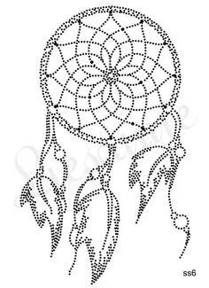 Dream catcher string art                                                                                                                                                                                 Más