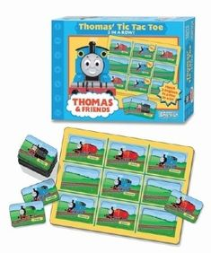Thomas The Tank Engine and Friends Tic Tac Toe Game