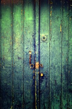 Blue Door In Avanos