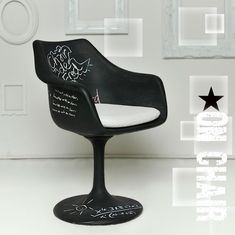 Méchant Design: février 2013 | A chalkboard chair