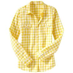 Old Navy Womens Lightweight Camp Shirt ❤ liked on Polyvore