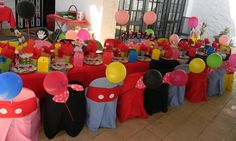 Mickey & Minnie Mouse themed kiddies party by Co-Ords Kidz Party Boutique