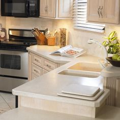 1000 Images About Swanstone Kitchens On Pinterest Custom Countertops Granite And Granite