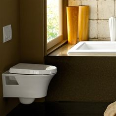 Porcher Solutions Wall-Mounted Dual Flush Toilet