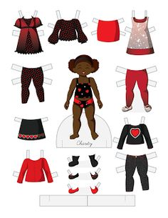 Paper Doll School: Toddler Fashion Friday - Charity