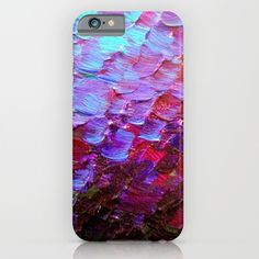 """Mermaid Scales"" by Ebi Emporium on #Society6, Fine Art Cell Phone Case Abstract Acrylic Painting Modern Decorative Eggplant Dark Purple Violet Turquoise Ombre, #fineart #ombre #art #purple #purple #mermaid #colorful #abstractpainting #EbiEmporium #JuliaDiSano #cellphone #phonecase #iphonecase #iphone5 #iphone6 #iphone6plus #samsunggalaxy #tech #techie"