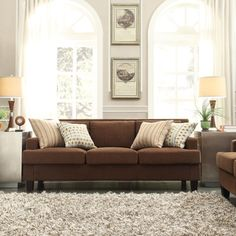 @Overstock - INSPIRE Q Park West Chocolate Chenille Track Arm Sofa - Traditional details get a contemporary twist in our Kendrick sofa. The cushions gives a nod to formality, while the low arm and seat height give a relaxed feeling and comfortable sitting position for people of every size.  http://www.overstock.com/Home-Garden/INSPIRE-Q-Park-West-Chocolate-Chenille-Track-Arm-Sofa/8122143/product.html?CID=214117 $435.36