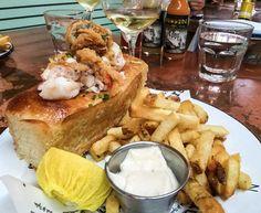 Ironside lobster roll in little Italy San Diego!