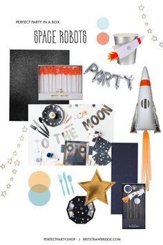 Space Themed Birthday Party   brit strawbridge   DIY