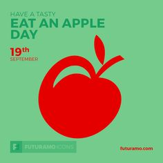 Have a tasty Eat an Apple Day! All icons used in the series are available in our App. Imagine what YOU could create with them! Check out our FUTURAMO ICONS – a perfect tool for designers & developers on futuramo.com #futuramo #futuramoapps #futuramoicons #futuramocalendar #icondesign #icons #iconsystem #freeicons #pixel #pixels #pixelperfect #flatdesign #ux #ui #uidesign #design #developer #developers #webdesign #app #appdesign