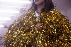 Gold Tinsel jacket