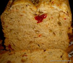 Pan con pipas y tomates secos ¡qué rico!