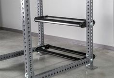 Monster Single Post Storage Shelf - Attached to Rogue Monster Rack - Empty