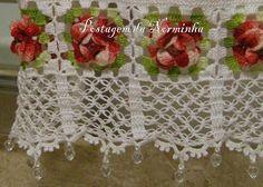 Flor em Crochê - / Flower Crochet -