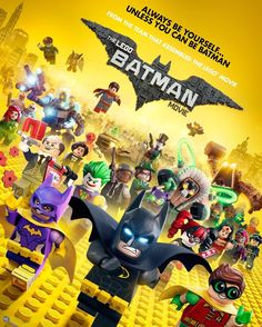 Everything is AWESOME! (Especially this poster!) Check out this #LegoBatman Movie Poster :D What do you think? #IfIWereAToy  #smyths #smythstoys #smythstoyssuperstores #toystagram #heyletsplay #ifiwereatoy #oscar #love #uk #ireland #toys #fun #instagood #winter #holidays #december #christmas #lego #batman #superheros #dc #joker #funny #legomovie