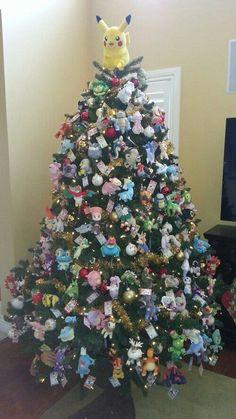 Pokemon Christmas tree; Pokemon