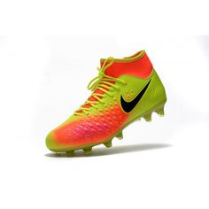 size 40 18cc1 c2d7a ... get best nike magista obra ii fg yellow orange black soccer shoes cbe9f  7f027
