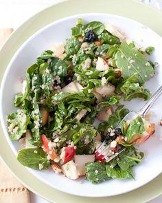 spinach quinoa + fruit salad recipe
