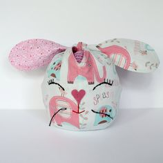 Bunny Ear Knot Bag, Sewing Pattern, Print and Sew at Home by SkinnyMalinkyDesigns