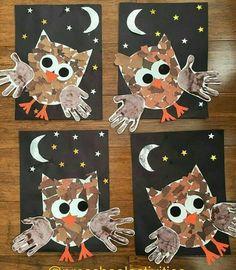 Owl craft activity.