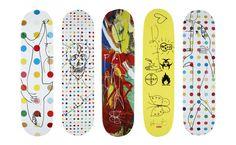 アーティストがデザインしたスケートデッキBEST10